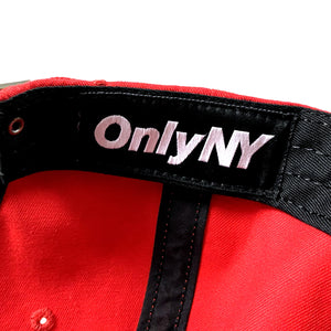 ONLY NY「UP TOWN Polo Hat」Red
