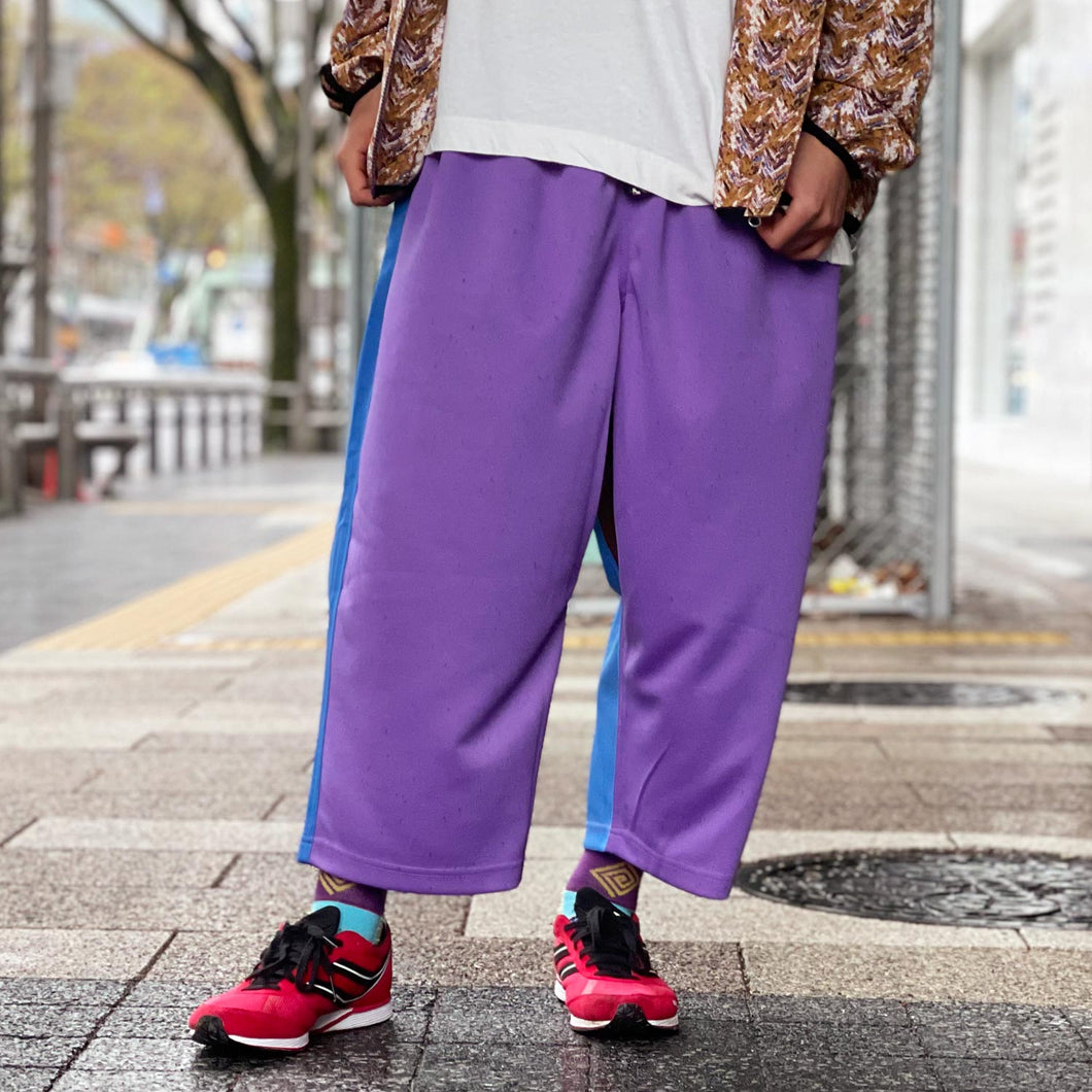 Wrong Cropped Pants(Purple)