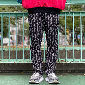 Rope Noisy Pants(Black)