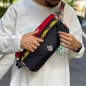 Zimon Waist Bag(Red)