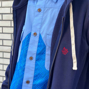 Triangle Shirt(Blue)