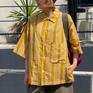 Plant Wide Shirt(Yellow)