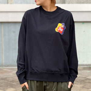 7UP collaboration Wide Long T(Black)