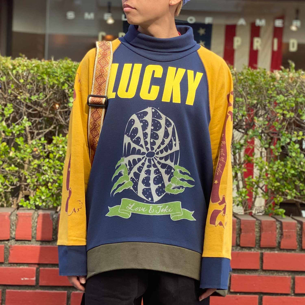 Lucky Turtle Top(Navy)