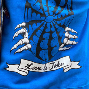 Lucky Wide Sweat(Blue)