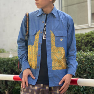 Triangle Shirt(Navy)