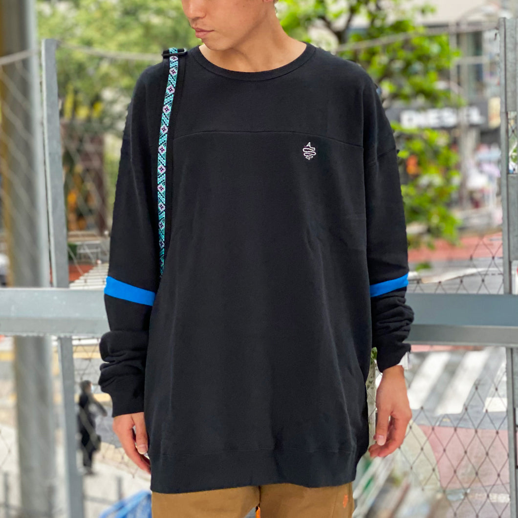 Sleeve Line Big Sweat(Black)
