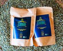 Load image into Gallery viewer, Congo Coffee House Roast: Most coffee aficionados have probably tried a number of different African coffees. The likely suspects would be Kenyan, Ethiopian and Tanzanian. There are, however, a number of other coffee producing countries in Africa that fly under the radar. The Democratic Republic of the Congo is one of these countries. Pairs wonderfully well with our freshly made in house  donuts (doughnuts)