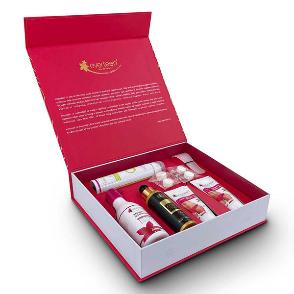 everteen Premium Gift Pack - an expression that you care for her feminine hygiene