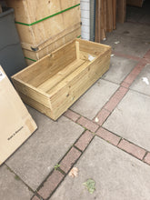 Load image into Gallery viewer, Wooden Garden Planter 100x50x30cm
