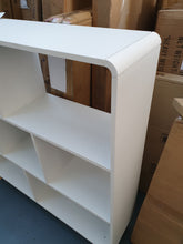 Load image into Gallery viewer, Scandanavian Cube bookcase 4 foot x 4 foot white