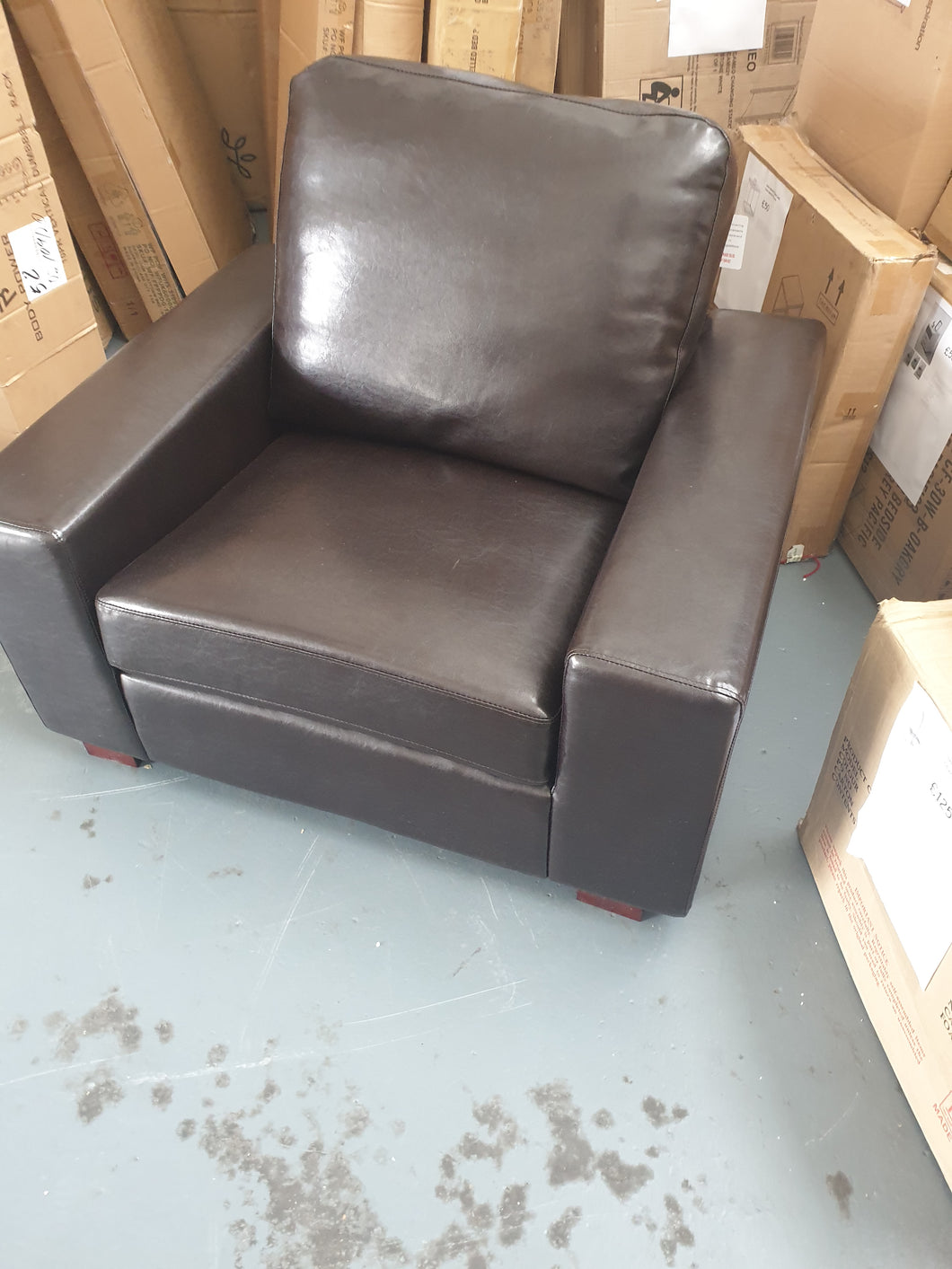 Chocolate Brown Arm chair