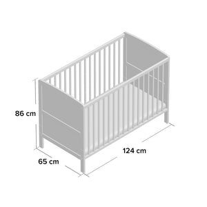 4Baby Classic Cot Bed