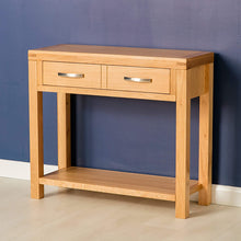 Load image into Gallery viewer, ROSELAND ABBEY LIGHT OAK CONSOLE TABLE