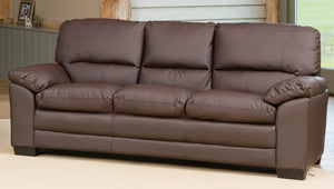 BELMONT BONDED LEATHER SOFA BED