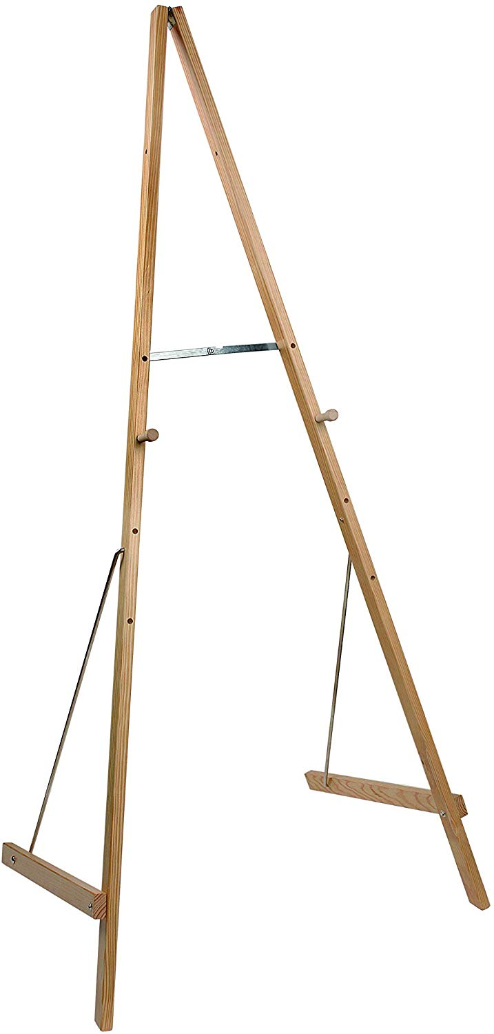 Bi-Office Wooden Easel Basic, 180 x 70 cm (Adjustable)