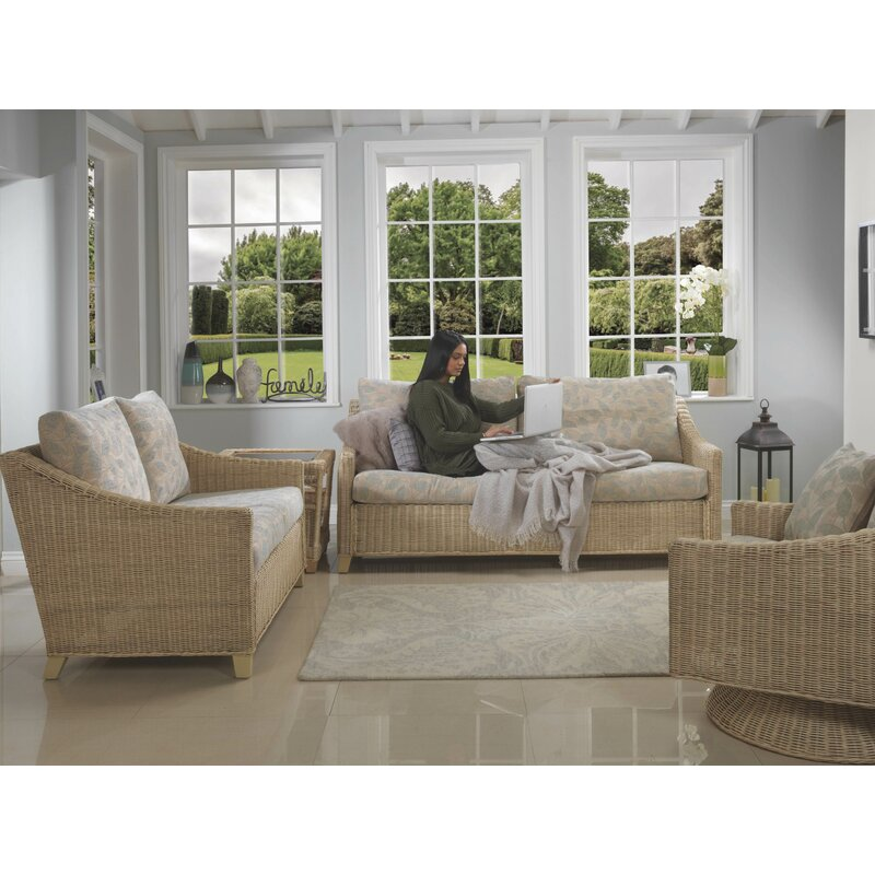 Carly 4 Piece Conservatory Sofa Set