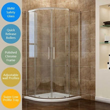 Load image into Gallery viewer, ELEGANT Quarant Shower Enclosure (tray not included)