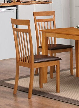 Elisa shaker chairs, beech set of 2