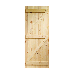 "External Pine Ledged & Braced Gate 1981 x 838mm (33"") (5012777140204)"