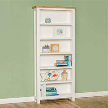Load image into Gallery viewer, FARROW WHITE LARGE BOOKCASE BY ROSELAND FURNITURE