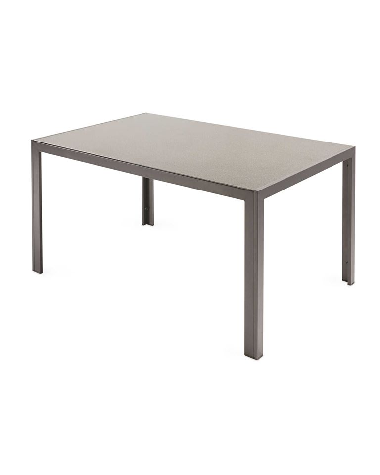 Gardenline Aluminium and Glass Garden Table (NO CHAIRS INCLUDED)