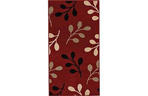 HOME HONEYSUCKLE RUNNER - 150 X 80CM - RED