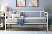 Load image into Gallery viewer, sleep design harlow antique day bed & trundle, white/black, no mattresses includ