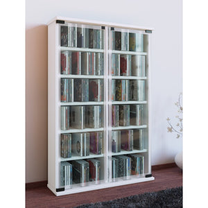 Mercury Row Multimedia Storage Rack 91cm H x 60cm W x 18cm D