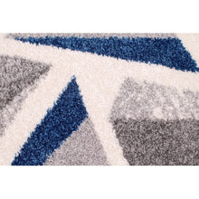 Load image into Gallery viewer, Ebdern Designs Nottle Spirit Tufted Navy Blue/Grey/White Rug 160 x 230cm
