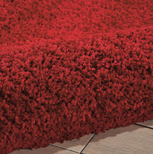 Load image into Gallery viewer, Nourison Amore Shaggy Rug, Red 3.30m x 2.39m, AMOR1