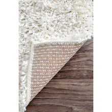 Load image into Gallery viewer, Nuloom Rug Carole Design 01831A White Easy Shaggy 240cmW x 305cmL (10X8 foot)