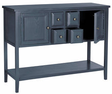 Load image into Gallery viewer, Safavieh Arbor Sideboard, Wood, Blue, EUH6517G