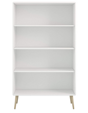 Load image into Gallery viewer, Steens Bookcase, MDF, White,