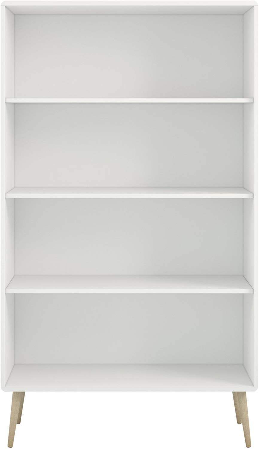 Steens Bookcase, MDF, White,