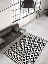 Load image into Gallery viewer, Stella 300 Black/White 80 x 150 cm rug