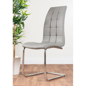 Trapp Upholstered Dining Chair (Set of 2) grey faux leather