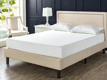 Load image into Gallery viewer, Zinus Julio single 3 foot Upholstered Platform Bed Frame,