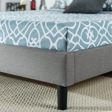 Load image into Gallery viewer, Zinus Kellen king size Upholstered Scalloped Button Tufted Platform Bed