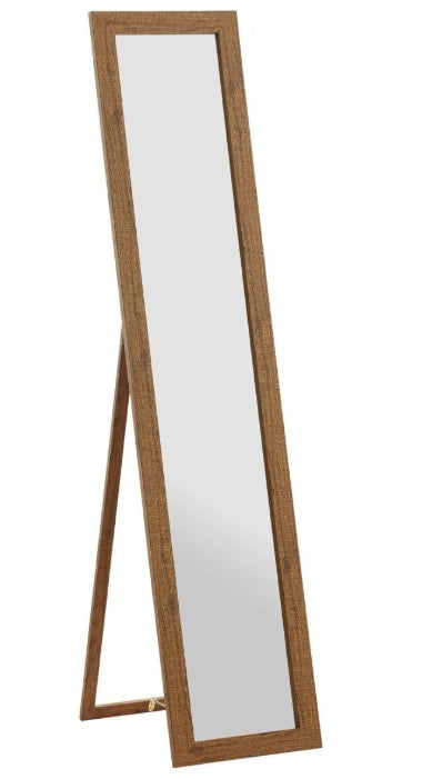 HAKU Furniture Standing Mirror, Oak, 47 x 34 x 156 cm