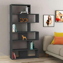 Load image into Gallery viewer, DECORTIE Molly Bookcase No.2 Anthracite,  H178.0cm x W94.0cm x D30.0cm