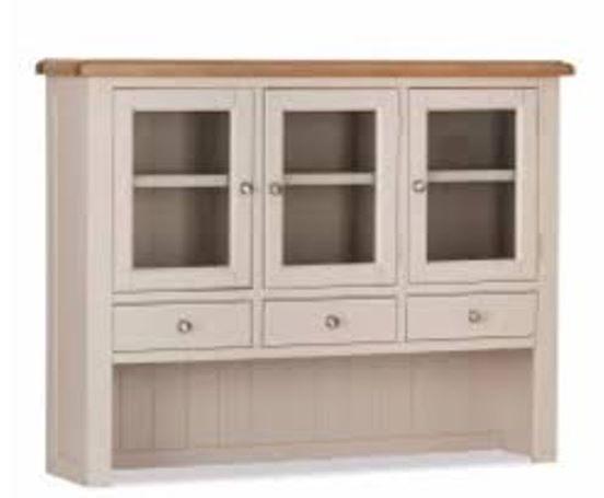 victor hutch 3 drawer 3 door sideboard top unit