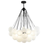 Frosted - Glass Ball Balloons Hanging Light