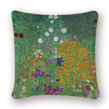 Gustav Klimt Pattern Decorative Cushion Cover