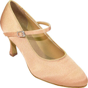 "2"" Heel Pointed-toe Ballroom Shoe 15005-55 - Final Sale"