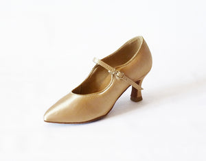 "2"" Heel Pointed-toe Ballroom Shoe 15007-55 - Final Sale"
