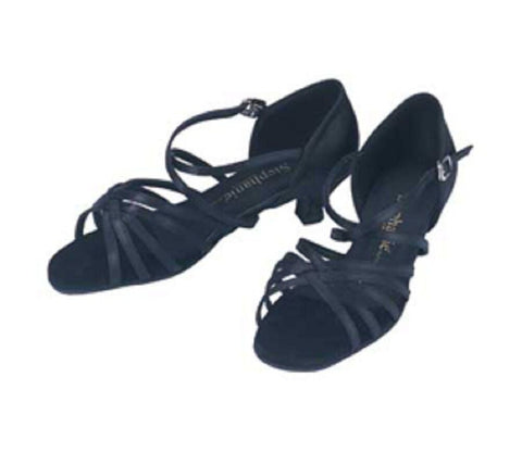 "1.5"" Heel Open Toe Ballroom Shoe 16004-15 - Final Sale"