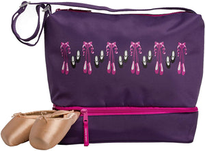 Viola Ballet and Tap Dance Small Gear Tote Bag with Shoe Compartment 9409