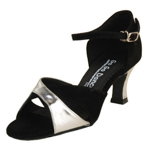 "2.5"" Heel Open Toe Ballroom Shoe GO4083 - Final Sale"