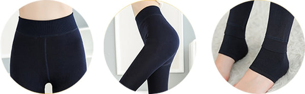 Faux Fur Lined Support Leggings ACA-0816
